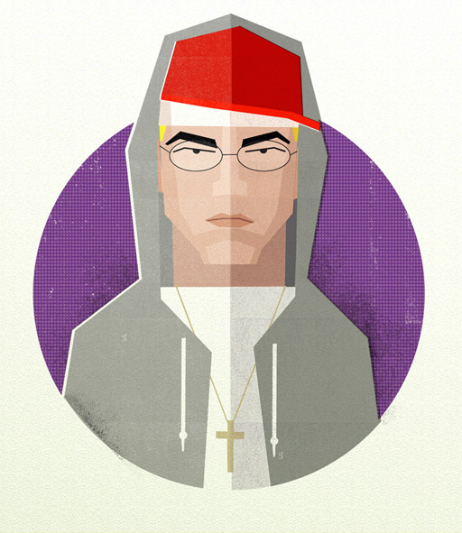 Illustration: Hip Hop Heads hiphopheads_08