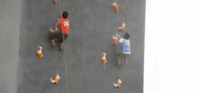 Speed Climbing Weltrekord kletterweltrekord
