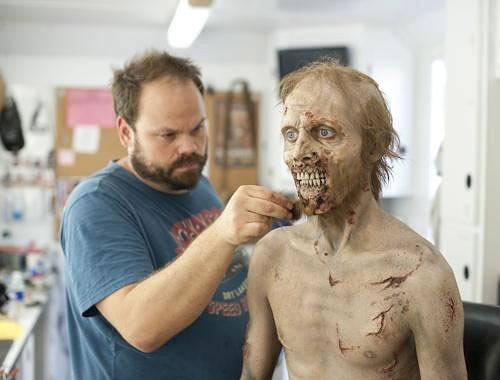 Making a Zombie: The Walking Dead Make-Up Team making_a_zombie_06