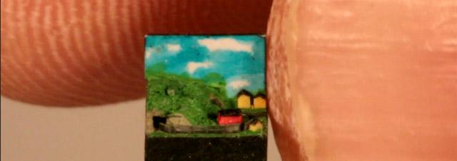 Die Weltkleinste Modell-Eisenbahn miniminiatureisenbahn