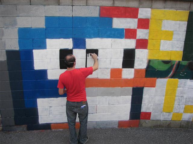 Street-Art: 8-Bit-Animation by Pao pao_8BIT_animation_02