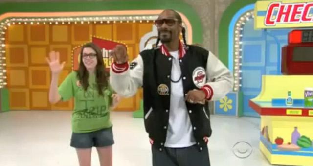 """Snoop Dogg bei """"Der Preis ist heiß"""" snoopdoggpriceisright"""