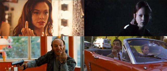 Supercut: Movie Middle Fingers