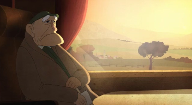 Sur les rails animated short