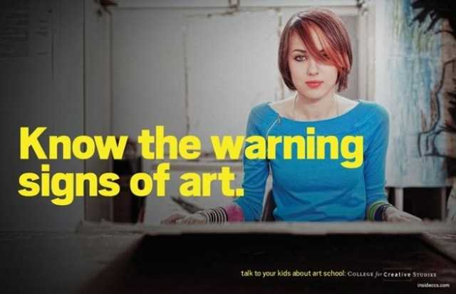 Know the Warning Signs of Art warning_signs_art_01