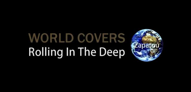 Die Welt covert Adele: 70x im Tiefen rollen worldcovers_rollinginthedeep