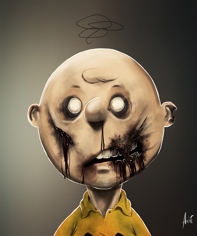 Comic-Charaktere Zombified zombified_cartoons_01