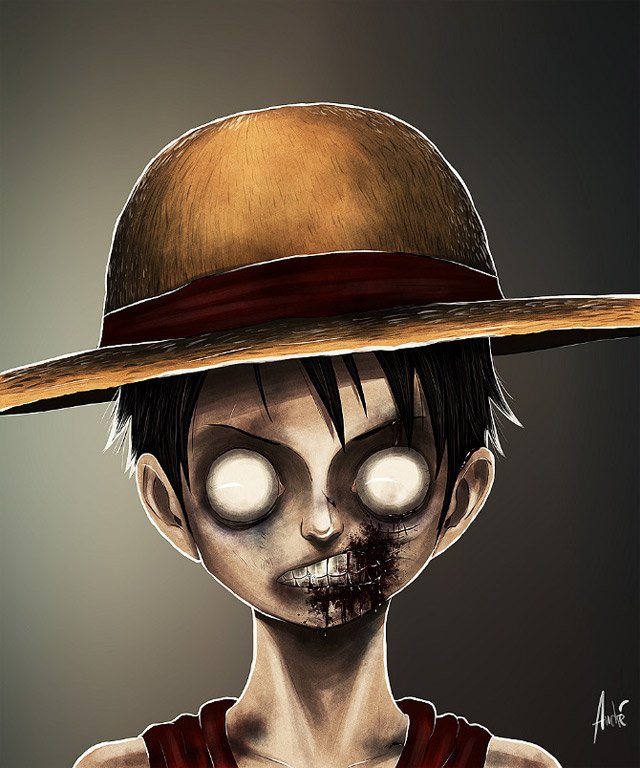 Zombified Cartoons by Andre De Freitas