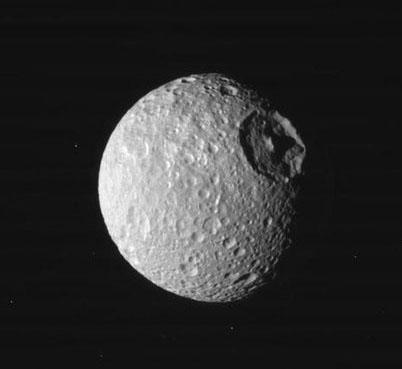 Mimas - Mond des Saturn 435_mimas