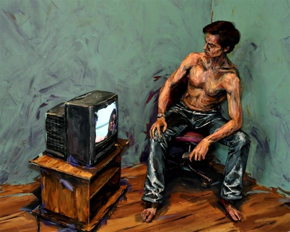 Künstlerisches Acryl-Bodypainting Alexa_Meade_05