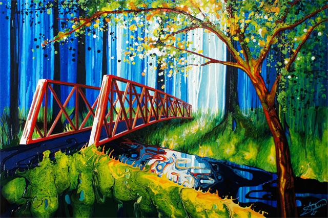 Amy Shackleton Painting