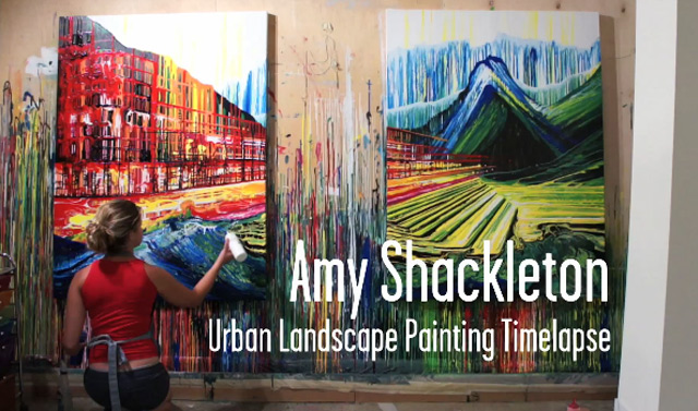 Verblüffende Malerei ohne Pinsel Amy_Shackleton_painting_timelapse