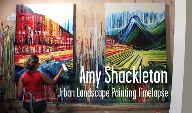 Amy Shackleton Painting Timelapse