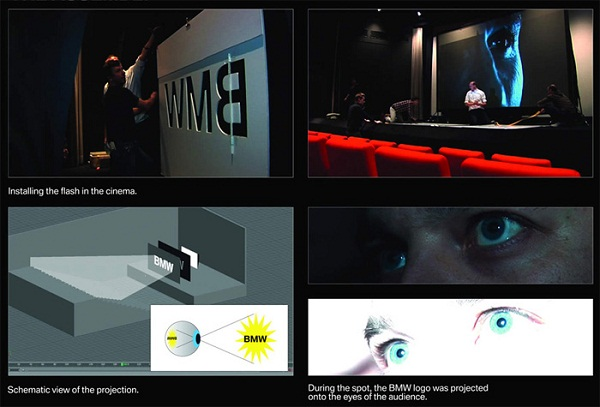 Kino-Werbung, die sich einbrennt BMW_kino_Logo_einbrennen