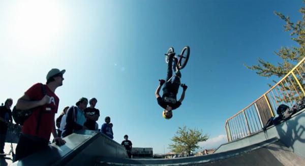 BMX Frejus Slowmotion Video