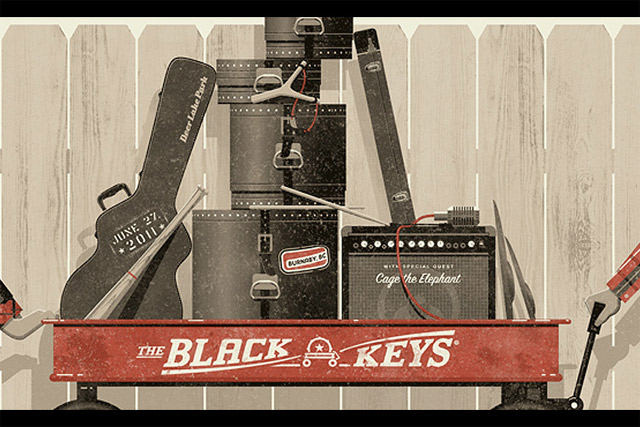 Illustration: Making Of The Black Keys Poster Black_Keys_Poster