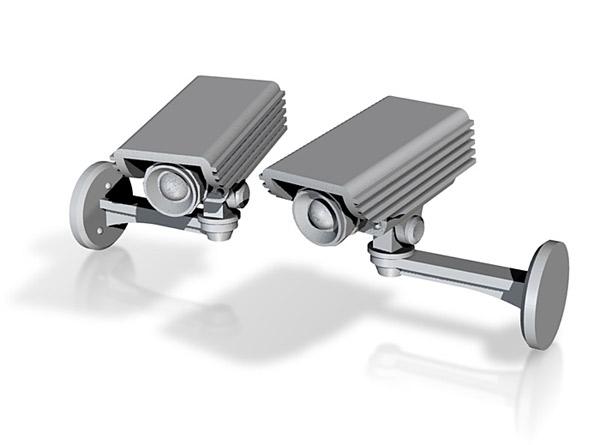 CCTV camera cufflings