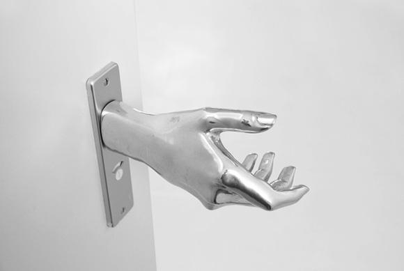 Das eiskalte Händchen Door-Hand-le