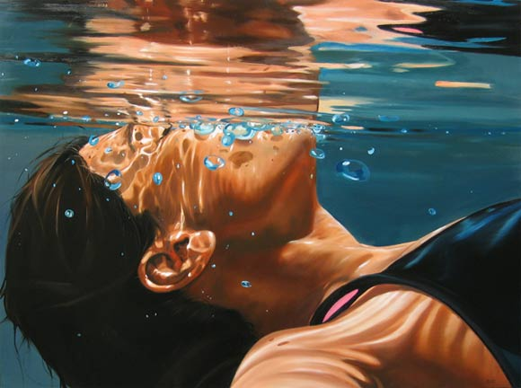 super-realistische Wassergemälde Eric_Zener_01