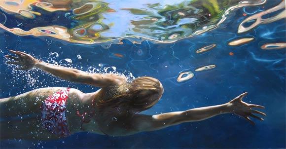 super-realistische Wassergemälde Eric_Zener_07