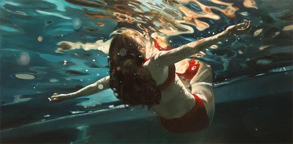 super-realistische Wassergemälde Eric_Zener_10