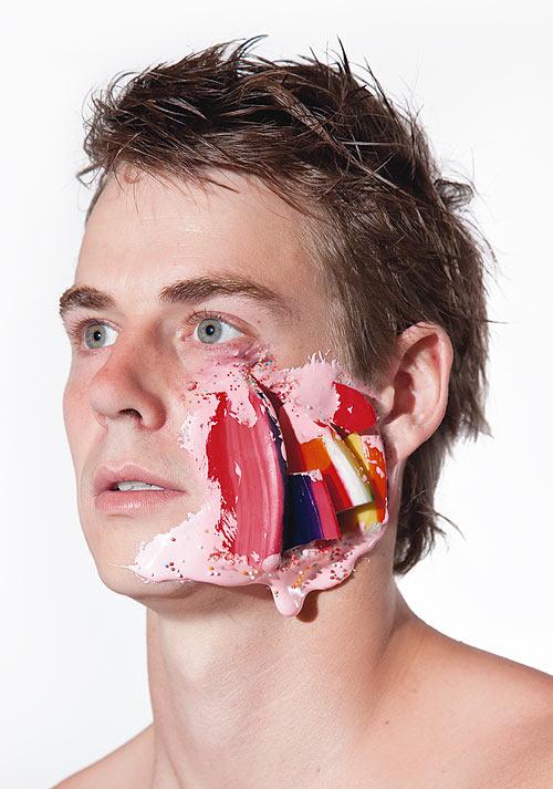 Lecker Splatter: Gesichter mit Süßigkeitswunden Faces_10