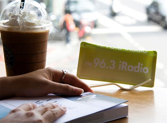 Das Solarradio im Portemonnaie Fexio-Solar-Fm-Radio
