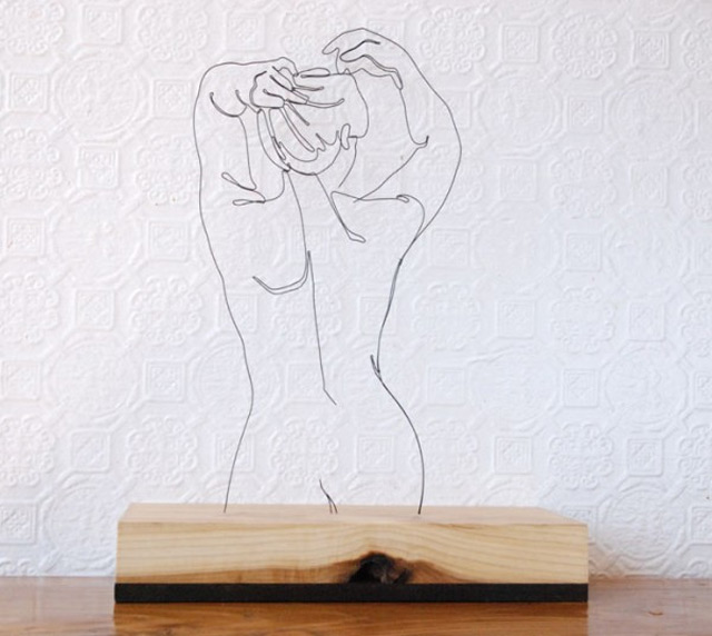Draht-Linien-Skulpturen Gavin_Worth_02