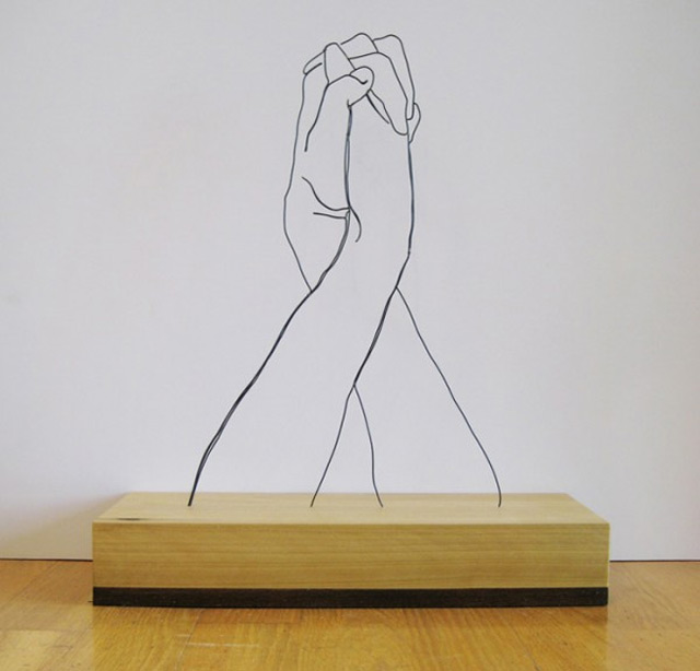Draht-Linien-Skulpturen Gavin_Worth_04