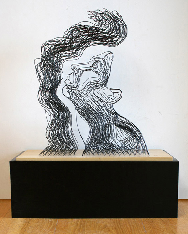 Draht-Linien-Skulpturen Gavin_Worth_05