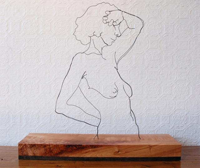 Draht-Linien-Skulpturen Gavin_Worth_06
