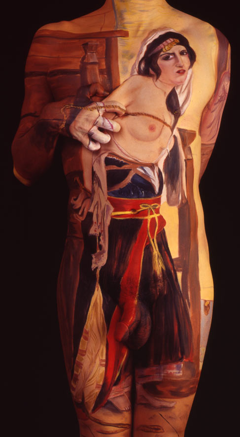Gemälde auf nackten Körpern Gemaeldebodypainting_03