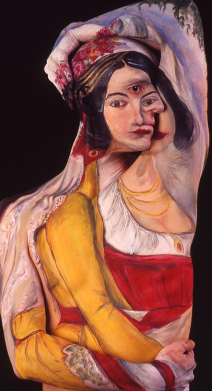 Gemälde auf nackten Körpern Gemaeldebodypainting_05