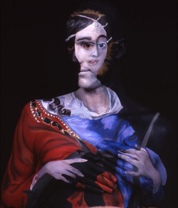 Gemälde auf nackten Körpern Gemaeldebodypainting_12