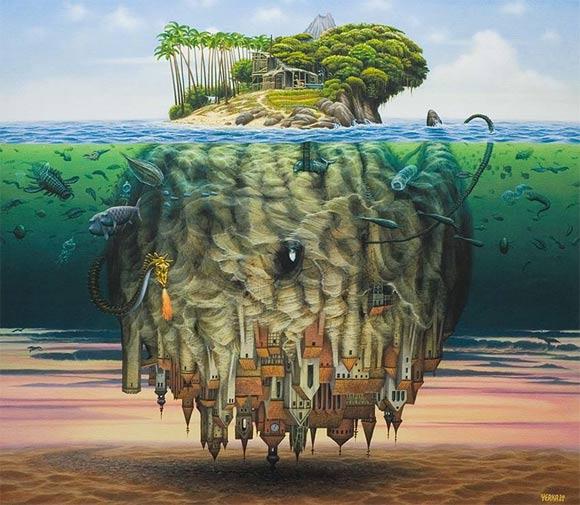 Surreale Gemälde: Jacek Yerka Jacek_Yerka_06