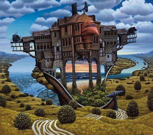 Surreale Gemälde: Jacek Yerka Jacek_Yerka_16