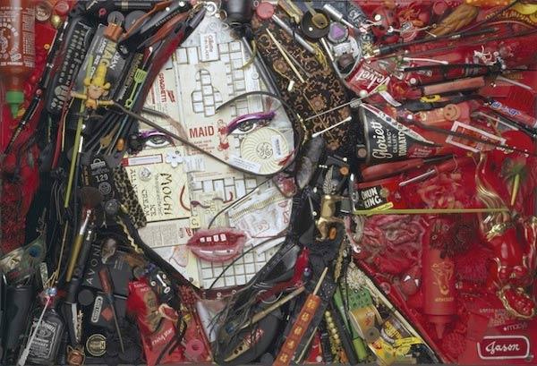 Promi-Portraits im Hausmüll-Mosaik Jason_Mecier_05