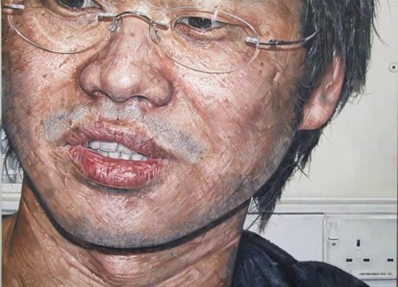 Wirr reale Portraitgemälde Kelvin-art