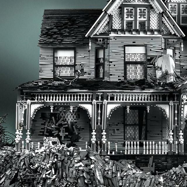Spukhäuser aus LEGO LEGO_Geistervillen_02