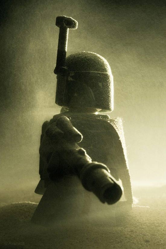 LEGO Star Wars photography by Avanaut