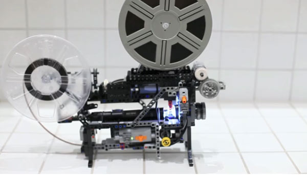 LEGO Technik Super8-Projector