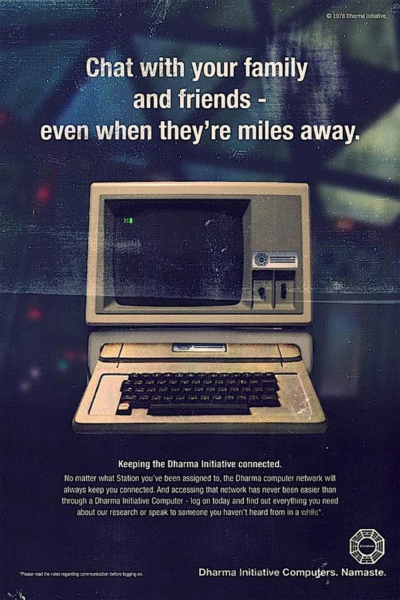 LOST: Fake vintage Print Werbung LOST_campaign_03