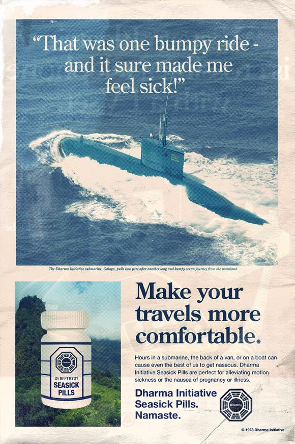 LOST: Fake vintage Print Werbung LOST_campaign_07