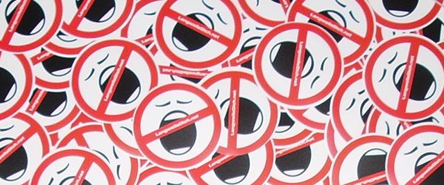 Langweilige Sticker, Aufkleber und Haftzettel - GET SOME! LangweileDich.net_Stickeralarm