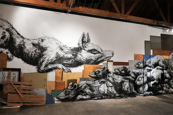 works by ROA