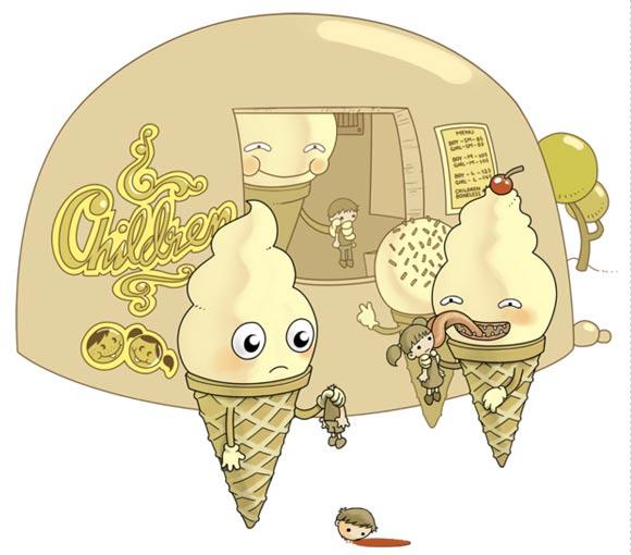 Funny illustrations: Sheharzad Arshad Sheharzad_Arshad_08