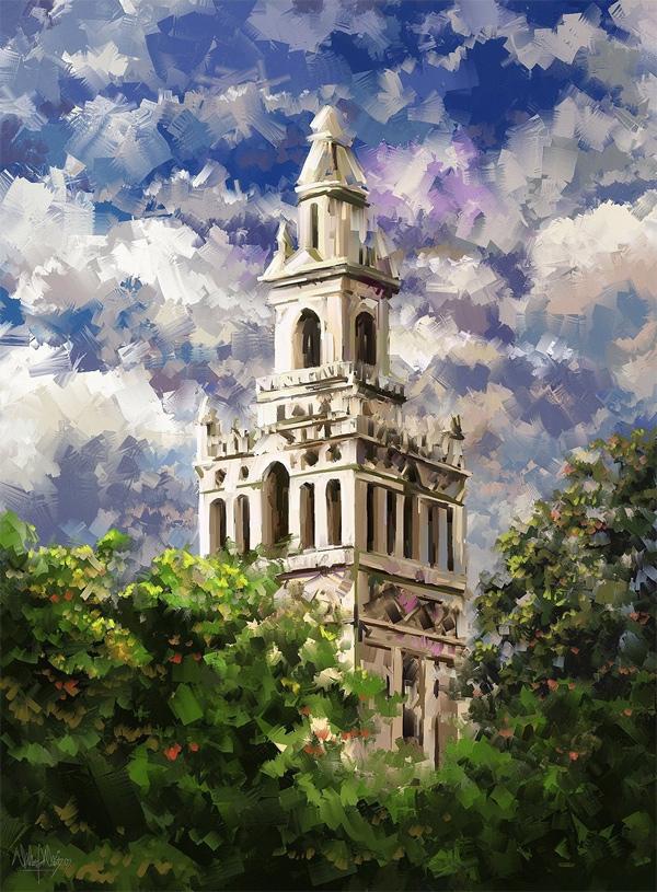impressionistische Malerei: Waheed Nasir Waheed_Nasir_01