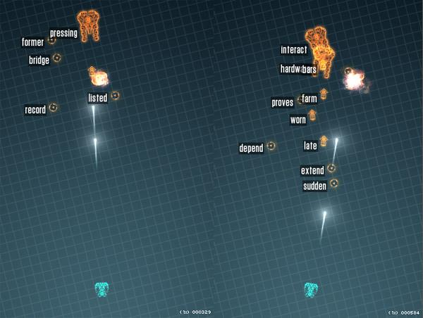 Game: Schnellschreib-Space-Shooter Z-Type