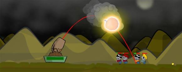 Game: Zombie Kanonenschießen ZOM-TV