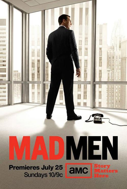 Mad Men Season 4 Teaser Poster madmenseason4_poster